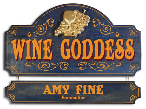 Wine Decor, Vintage and Personalized