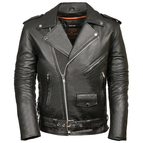 Biker Gift Idea: Classic Leather Jacket