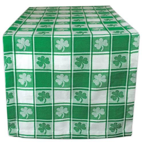 Irish Shamrock Tablecloth - St Patrick's Day Party Decor