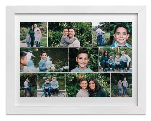Anniversary Gift Idea - Family Photo Collage