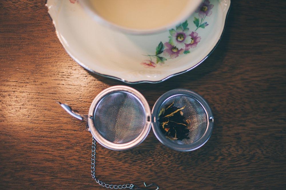 Warm Winter Peach Tea from Plum Deluxe
