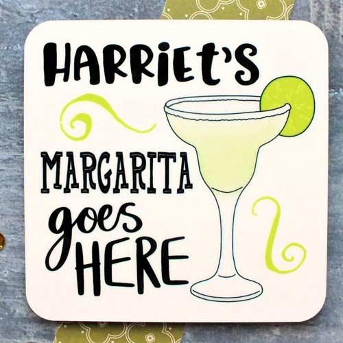 Margarita Gifts - Custom Coaster