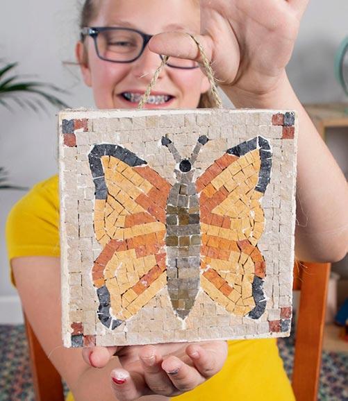 Mosaic Artwork for Kids