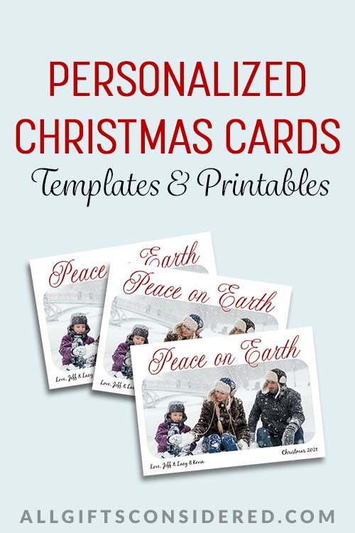 Personalized Christmas Card Guide