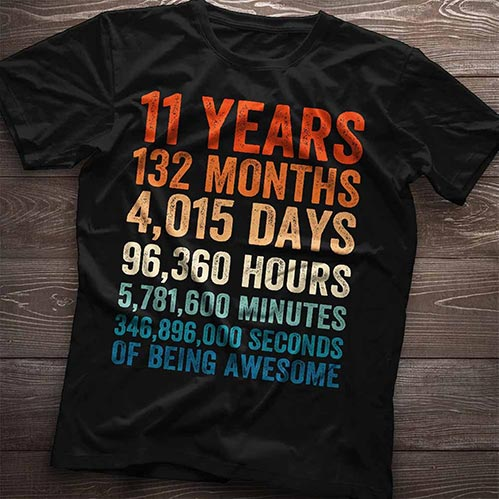 Perfect Shirts for 11 Year Old Kids