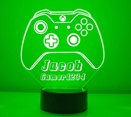 Personalized Controller Lamp