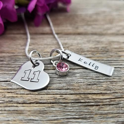 Personalized Necklaces for Girls