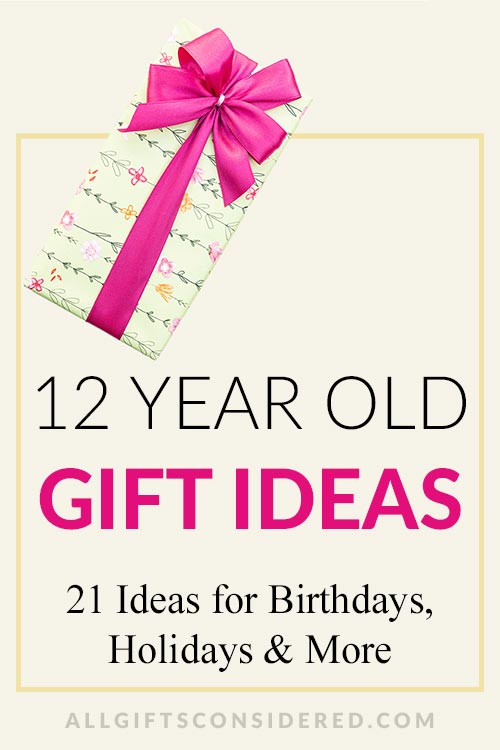 12 Year Old Gift Ideas