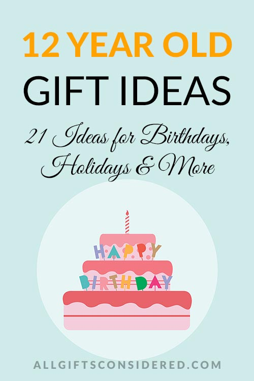 12 Year Old Gift Ideas for Holidays, Birthdays, and More