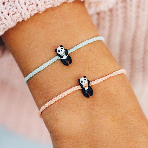 Adorable Panda Charm Bracelets