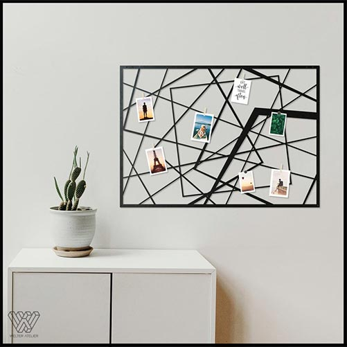 Metal Wall Decorations: Photo Holder