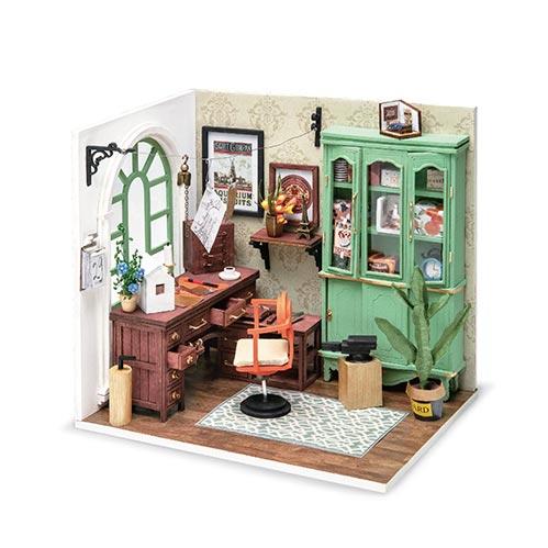 Office Room Minature House Kit