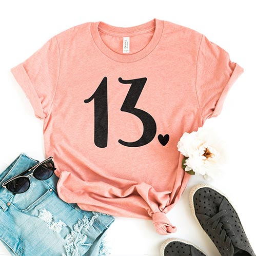 13th Birthday Shirt