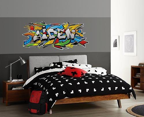 Bed Room Wall Art for Teen Boys