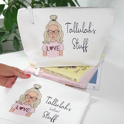 Her Stuff - Make Up Bag