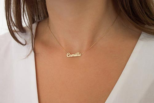 Personalized Golden Necklace