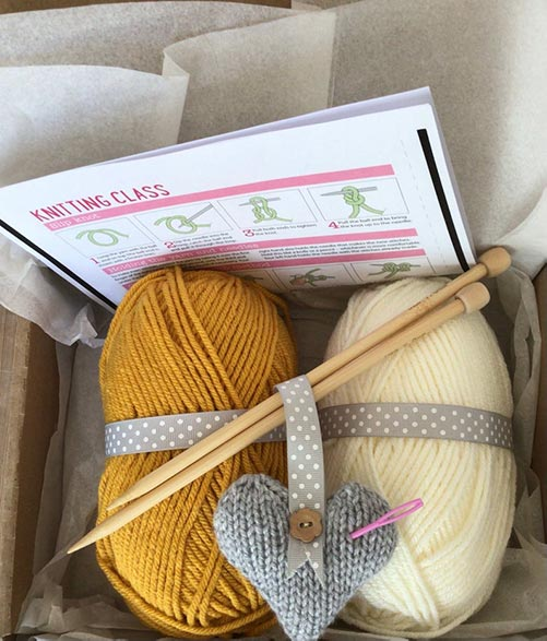 Knitting - Hobby Starter Kit