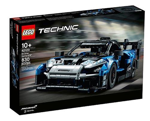 McLaren GTR Lego Set