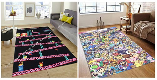 Video Game Rugs