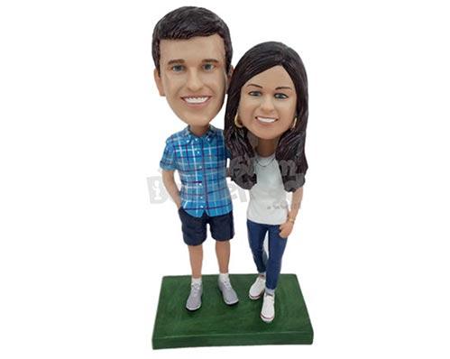 Custom Bobbleheads for Couples