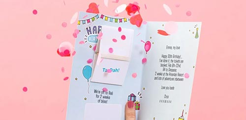 Exploding Birthday Card