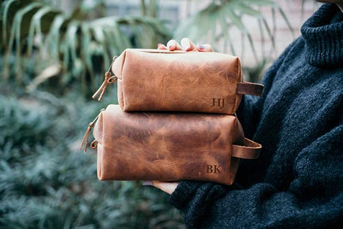 Leather Bag for Guys
