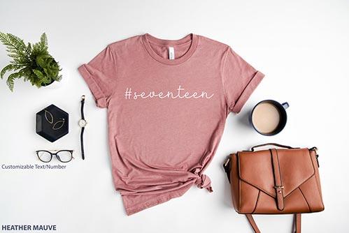 #Seventeen Shirt