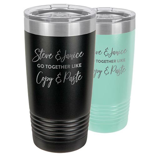 Gifts for Girlfriend: We Go Together Like Tumbler