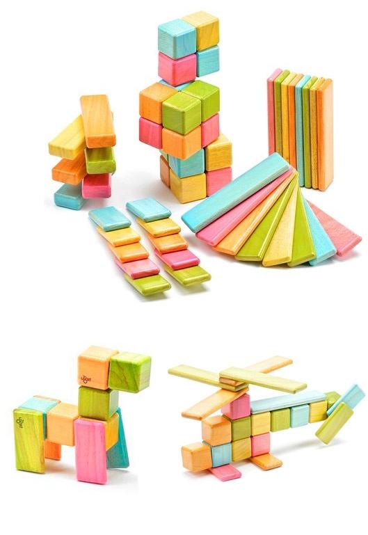 Tegu Magnet Toy Blocks for Baby Shower