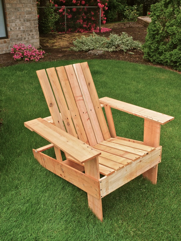 DIY Lawn Chair Tutorial