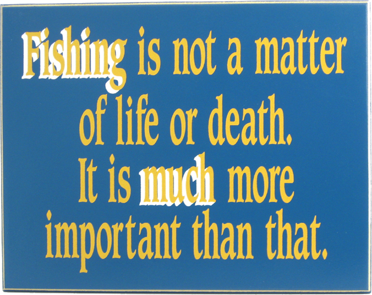 Man Cave Signs for Fishing