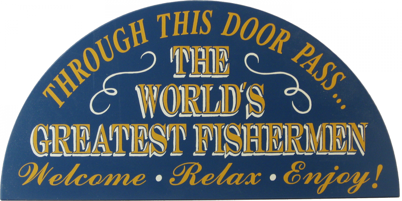 Man Cave Wall Decor for Fishing