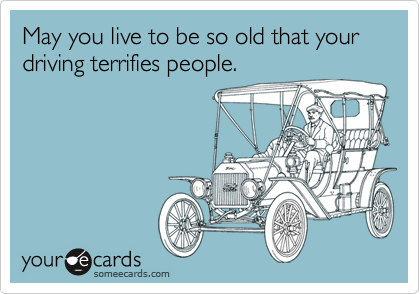 A Funny Meme about Growing Old