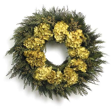 Organic Floral Wreaths