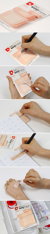 Band Aid Notepad Stocking Stuffer