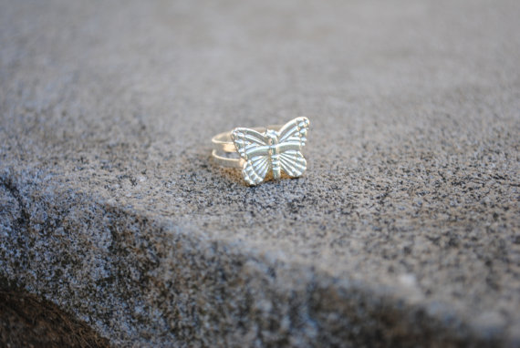Unique Butterfly Ring