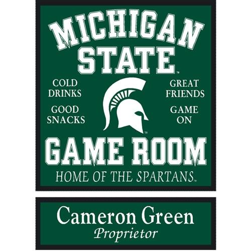 Michigan State Game Room