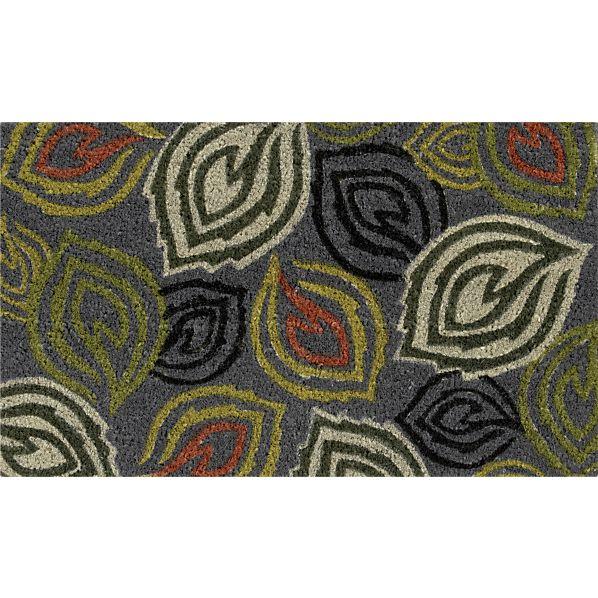 Cute Doormat with Leaf Design