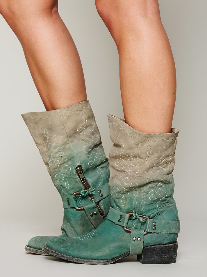 Dipped Phoenix Boots
