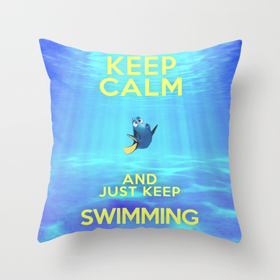Finding Nemo Quote Pillow