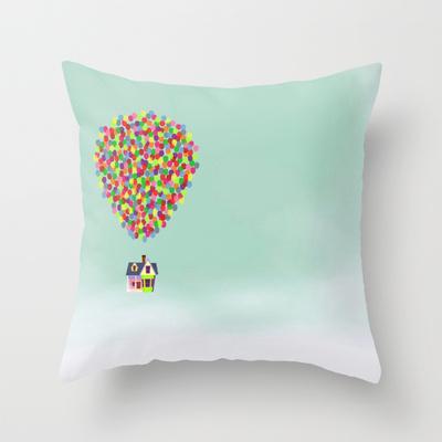 Up Movie Pillow Design