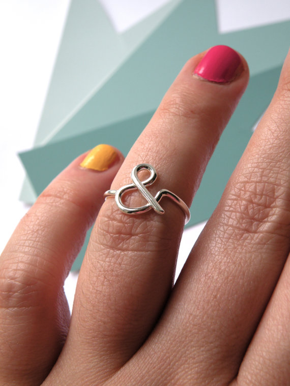 You and Me Ampersand Ring