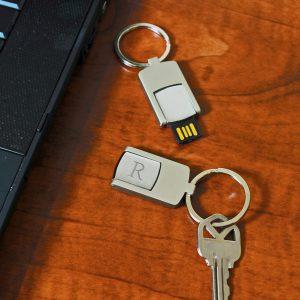 USB Metal Keyring
