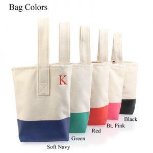 Colorful Wine Tote Bag