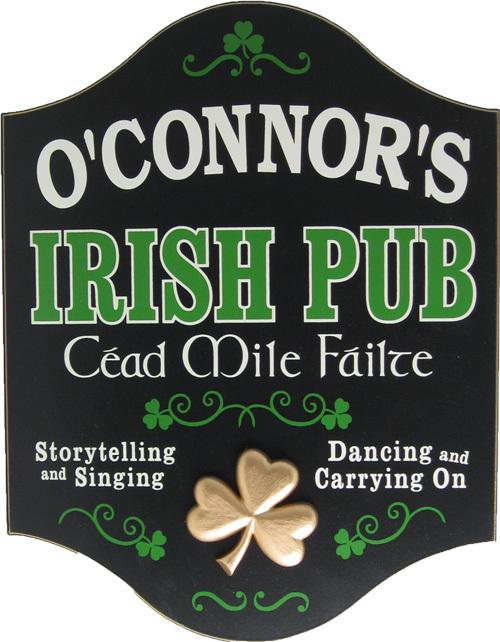 Irish Man Cave Signs