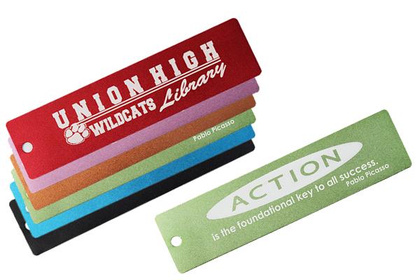 Engraved Metal Bookmarks