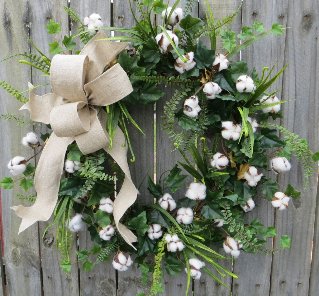 Organic Mother's Day Wreath