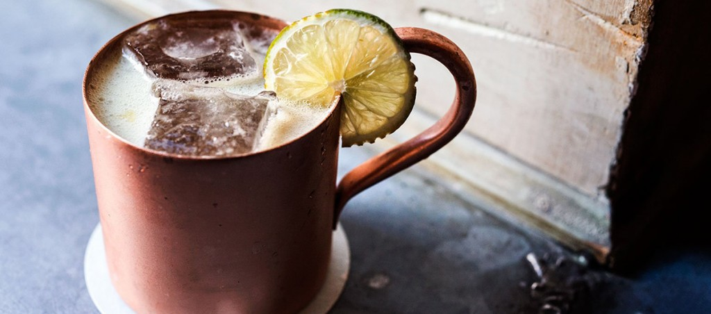 How the Moscow Mule Got Its Name and Shiny Copper Mug