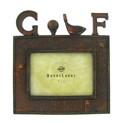 Picture Frame for Golf Photos