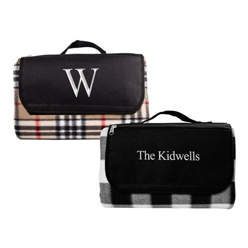 Travel Picnic Blanket Personalized